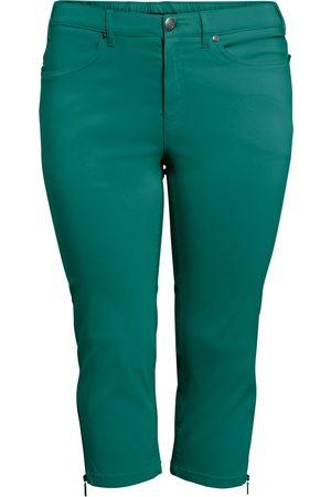 Ciso Bengalin 3/4-bukser med lynlås i ben - Grass Green - 42