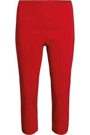 Brandtex Capri leggings - Scarlet - 0 / 36