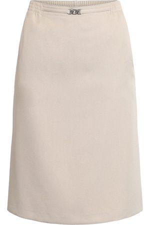 Brandtex Nederdel med elastik og spænde - Desert - 36