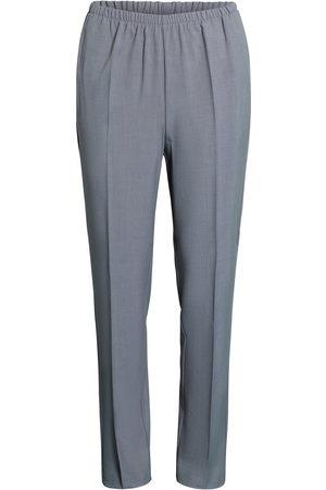 Brandtex Bukser med elastikbånd i taljen Anna - Sand mell. - 74 cm / 34
