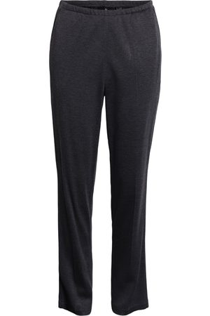 Brandtex Bukser med elastikbånd i taljen - Koks melange - 78 cm / 36