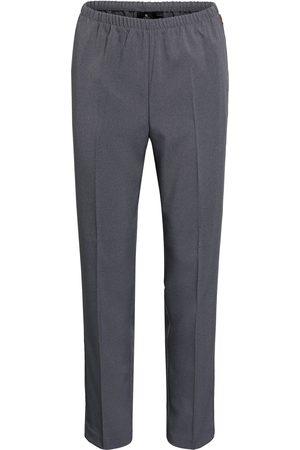 Brandtex Bukser med elastik Anna - Washed Grey - 74 cm / 38