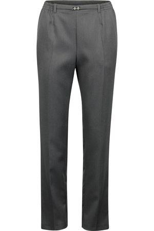 Brandtex Bukser med spænde og elastik Anna - Koks melange - 78 cm / 38
