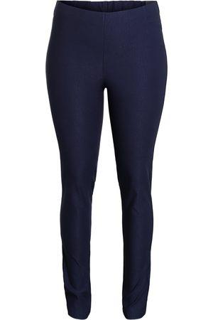 Ciso Bukser med elastisk linning, slank pasform - Midnight Blue - 46