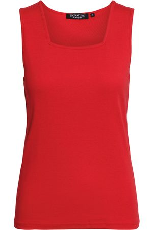 Signature Top - Chinese Red - S