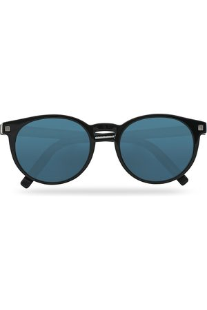 Ermenegildo Zegna EZ0172 Sunglasses Shiny Black/Blue