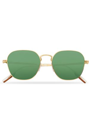 Ermenegildo Zegna EZ0174 Sunglasses Shiny Deep Gold/Green