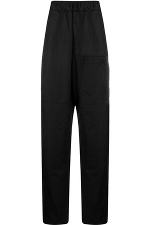 Jil Sander Elasticated waist wide-leg trousers