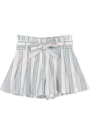 Tartine Et Chocolat Piger Shorts - Striped cotton shorts