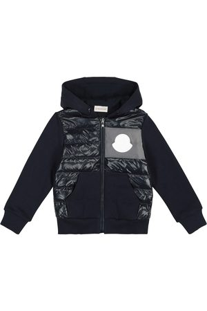 Moncler Quilted down hoodie