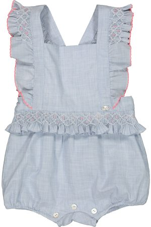 Tartine Et Chocolat Piger Playsuits - Baby embroidered cotton playsuit