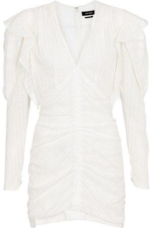 Isabel Marant Kvinder Festkjoler - Getya cotton-blend minidress