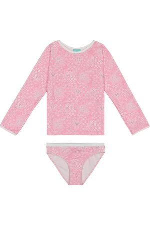 Melissa Odabash Baby Dakota printed bikini set