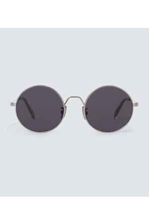 Céline Mænd Solbriller - Rounded metal frame sunglasses