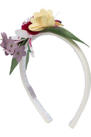 MONNALISA Floral corsage headband