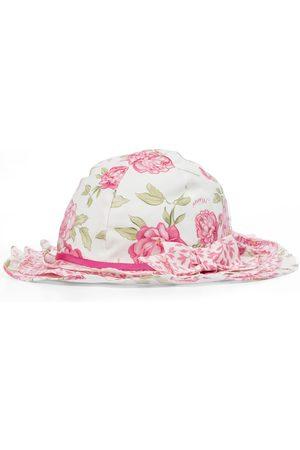 MONNALISA Hatte - Floral sun hat