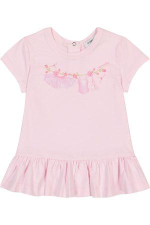 MONNALISA Baby printed cotton T-shirt
