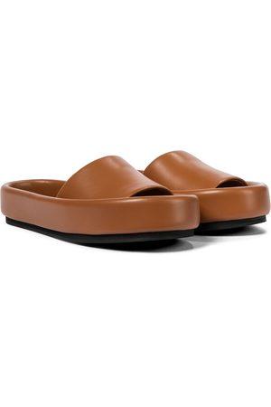 Khaite Kvinder Klipklapper - Venice leather slides
