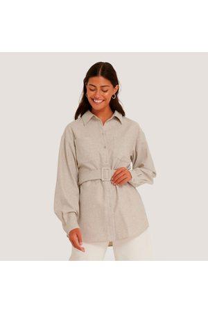 NA-KD Kvinder Sommerjakker - Oversiz wool jacket