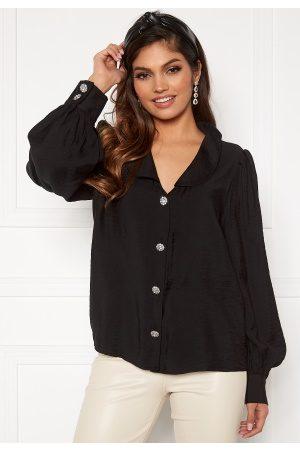 Vila Cameli L/S Shirt Black 36