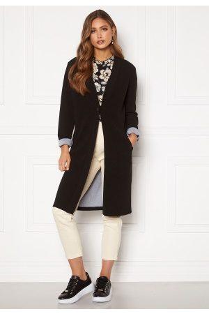 Happy Holly Stefanie tricot coat Black 40/42