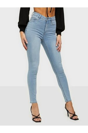 Gina Tricot Molly High Waist Jeans Skinny fit Sky Blue