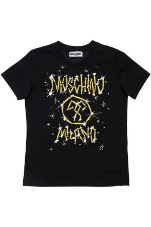 Moschino Logo Cotton Jersey T-shirt