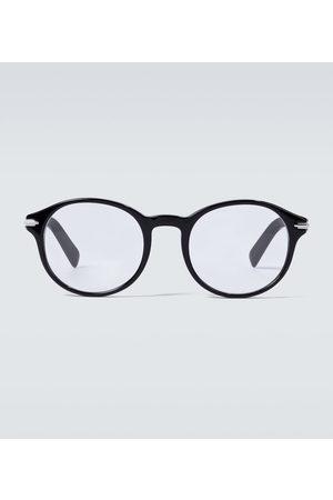Dior Mænd DiorBlacksuitO RI round-framed glasses