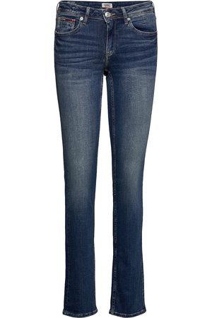 Tommy Hilfiger Kvinder Slim - Mid Rise Straight Sandy Rbst Slim Jeans