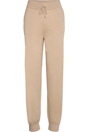 Lounge Nine Lnballou Knit Pants Casual Bukser Beige