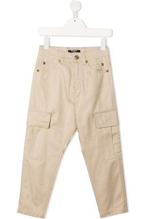 Balmain Jeans med lige ben og cargo-lomme