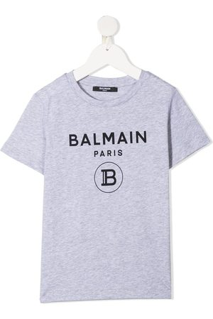 Balmain Drenge Kortærmede - T-shirt med logotryk