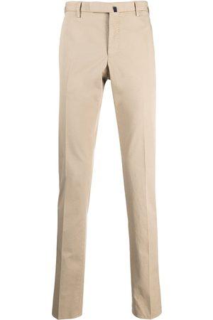 Incotex Mænd Chinos - Cropped chino-bukser med svaj
