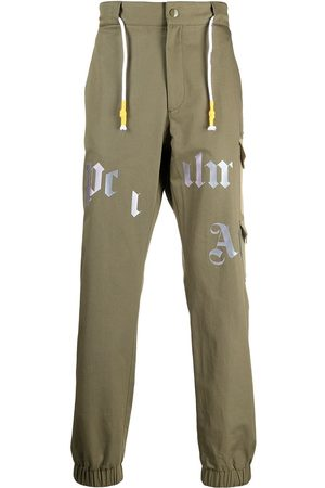 Palm Angels MILITARY CARGO PANTS MILITARY BEIGE