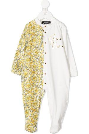 VERSACE Pyjamas med baroktryk