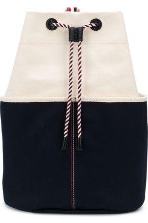 Thom Browne Tofarvet bucket-rygsæk
