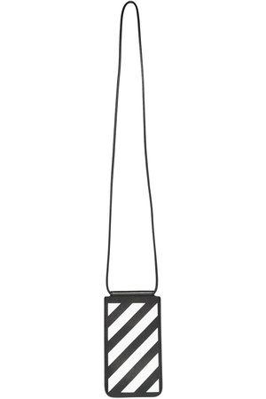 OFF-WHITE Mænd Punge - DIAG pung i saffiano-læder