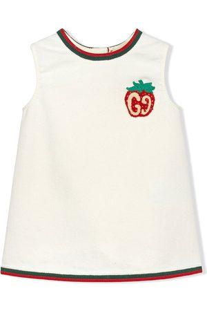Gucci Baby Kjoler - GG Strawberry kjole