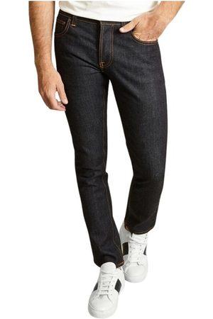 Nudie Jeans Mænd Slim - Grim Tim Slim Dry True Jeans