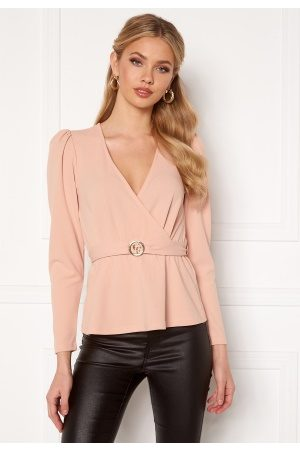 Chiara Forthi Cornelle buckle top Pink L