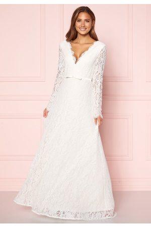 Moments New York Kvinder Festkjoler - Antoinette Wedding Gown White 36
