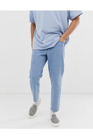 ASOS Klassiske jeans i lys stonewash fast denim fra