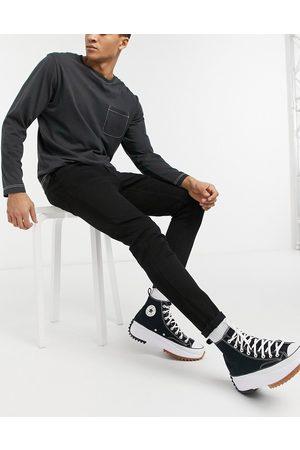 New Look Sorte skinny jeans fra