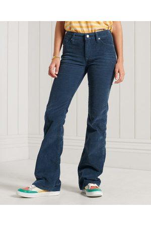 Superdry Smalle jeans med snøre, brede ben og mellemhøj talje