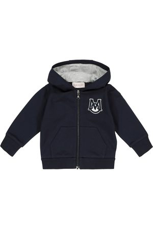 Moncler Logo stretch-cotton jersey hoodie