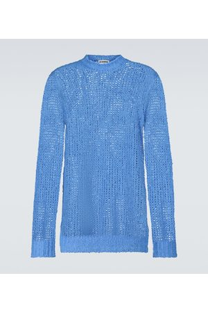 Jil Sander Linen knitted sweater