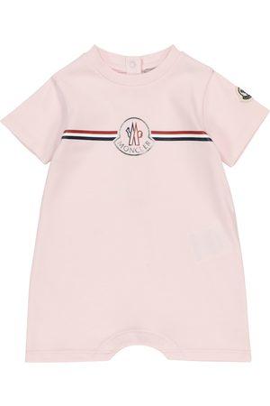 Moncler Baby logo cotton-jersey bodysuit