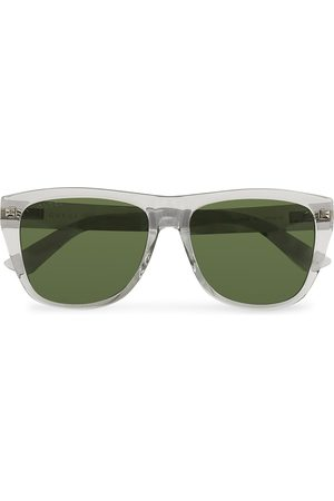 Gucci Mænd Solbriller - GG0926S Sunglasses Grey/Green