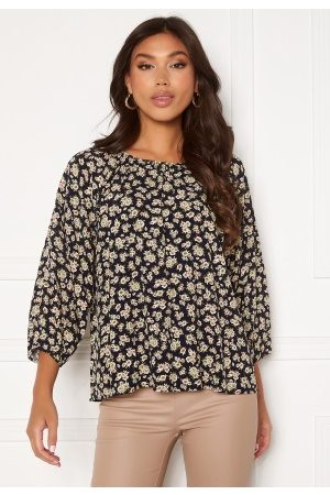 Object Kvinder Casual - Anmira 3/4 Top Sky Captain Flowers 36