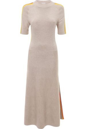 GABRIELA HEARST Cashmere & Silk Knit Midi Dress
